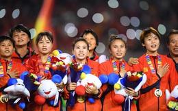 Sau SEA Games 30, tuyển bóng đá nữ Việt Nam lên hạng 6 châu Á