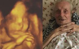 """Đi siêu âm 4D, người mẹ trẻ bật khóc khi nhìn thấy ảnh của con trai đầu lòng và trong đầu liền nghĩ: """"Là ông ngoại đây mà"""""""