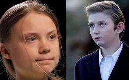 Quý tử nhà Trump bị đem ra so sánh với nhà hoạt động môi trường nhí Greta Thunberg và phản ứng bất ngờ của Đệ nhất phu nhân Mỹ