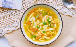 Bữa tối giảm cân chỉ cần chén canh đậu là vừa ngon vừa nhẹ bụng