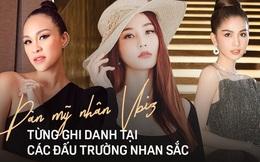 Ít ai biết dàn mỹ nhân Vbiz này từng thi Hoa hậu: Ngọc Trinh dính lùm xùm, ai cũng đổi đời ngoạn mục dù thứ hạng không cao