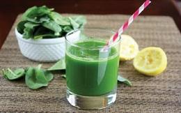 Nước ép cải bó xôi cho mùa đông khỏe mạnh