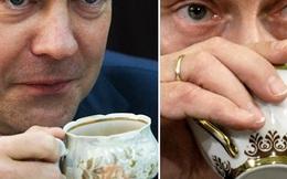 Những bức ảnh cho thấy Putin và Medvedev rất hợp nhau