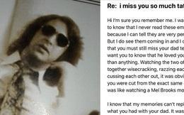 Sau khi bố qua đời, con gái vẫn đều đặn gửi mail cho ông cho đến một ngày bật khóc vì nhận được hồi âm