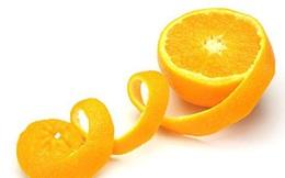 Ăn cam đừng vứt vỏ đi, giữ lại dưỡng da trắng mịn đẹp hết ý