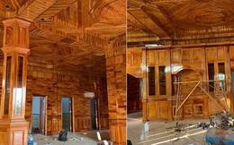 Xuất hiện căn nhà lát gỗ toàn bộ đến cả nội thất, dân mạng há miệng trầm trồ nhưng không ai dám mạnh dạn định giá