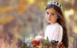 Loạt ảnh mới của cô bé quá xinh khiến bố phải nghỉ việc làm vệ sĩ, không hổ danh bé gái đẹp nhất thế giới
