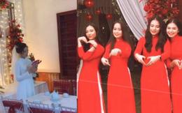 Vợ Phan Văn Đức xinh đẹp trong đám hỏi, khoe dàn phù dâu nhan sắc không phải dạng vừa