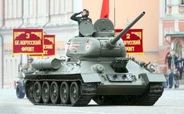"""""""Huyền thoại"""" xe tăng T-34 của Nga tròn 80 tuổi"""