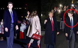 Barron Trump đốn tim hàng ngàn người hâm mộ, tỏa sáng như một ngôi sao và làm lu mờ cả nữ thần Nhà Trắng Ivanka