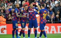 Messi viết lịch sử, Barca nhận quà Giáng sinh