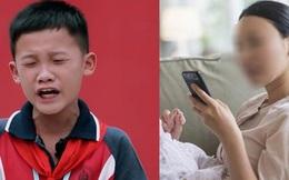 """Phụ huynh không quan tâm, con trai lên tận sóng truyền hình khóc lóc: """"Nhiều lúc con nghĩ điện thoại di động mới chính là bố mẹ ruột của mình"""""""