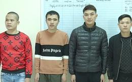 Bắt 4 đối tượng truy nã về tội cho vay lãi nặng