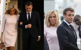 Mặc đầm hồng trẻ trung khoe chân thon đáng ghen tỵ nhưng Đệ nhất phu nhân Pháp vẫn bị chê tơi tả vì điều này