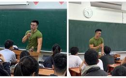 Học sinh ôm tim hò hét vì thầy giáo đẹp trai như diễn viên điện ảnh, thân hình hoàn mỹ không khác gì tượng điêu khắc