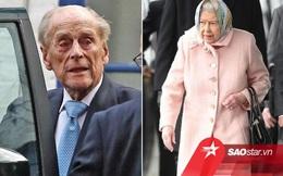 Xúc động nguyên nhân Nữ hoàng Elizabeth không tới thăm chồng nằm viện