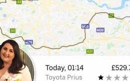 Lỡ ngủ quên trên xe, cô gái thức dậy với hóa đơn Uber gần 16 triệu sau khi tài xế chở đi lòng vòng hơn gấp đôi quãng đường