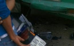 Tông vào đuôi xe đầu kéo đang đậu bên đường, đôi nam nữ tử vong tại chỗ