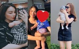 Mỹ nhân Việt giấu chuyện bầu bí mặc đồn đoán rồi đột ngột công khai con