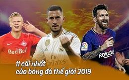 """11 cái nhất của bóng đá thế giới năm 2019: Messi tiếp tục """"lỡ đò"""", fan MU vẫn phải trú ẩn trong """"hang"""""""