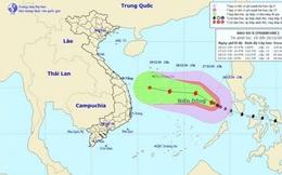 """Không khí lạnh sẽ """"đánh tan"""" bão số 8 ngay trên Biển Đông"""