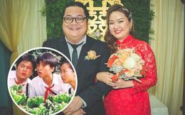Sao nhí 'Kính vạn hoa' đình đám một thời cưới vợ, mối tình 13 năm với bà xã từ thời còn cắp sách gây chú ý