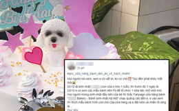"""Tiệm bánh ở Hà Nội bị tố cò quay, sát sinh nhật bé 1 tuổi còn yêu cầu khách hàng tự hủy đơn vì """"nhà xa không ai nhận ship"""""""