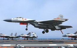 """Soi dàn máy bay trên tàu sân bay mới nhất của TQ chuyên """"bám sát"""" Biển Đông"""