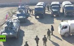 Quân cảnh Nga tiến vào nơi từng là căn cứ Mỹ ở Syria