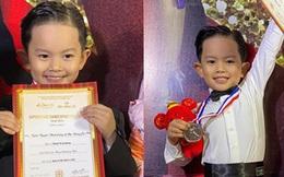Mới 4 tuổi, con trai Khánh Thi - Phan Hiển đã xuất sắc giành 2 HCB dù lần đầu thi dance sport: Đúng là con nhà nòi!