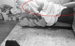 Phải ở nhà trông con cho vợ, ông bố mưu mẹo thách bọn trẻ vẽ lại dáng mình ngủ rồi lăn ra đánh một giấc ngon lành