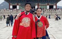 Vợ chồng Tiến Dũng check-in tươi tắn tại Hàn Quốc nhưng biểu cảm của Tư Dũng lúc đi ăn khiến ai cũng phải phì cười