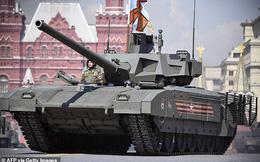 Nga trang bị bồn cầu cho xe tăng chủ lực T-14