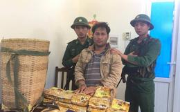 Bắt giữ 1 người Lào vận chuyển 10kg ma tuý đá và 20.000 viên ma tuý