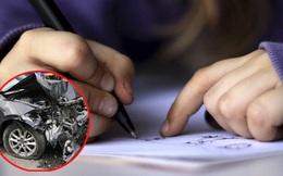 Mẹ bị xe ô tô tông suýt chết, bé gái quyết định viết một bức thư ngắn gửi hung thủ, nội dung khiến người lớn bất ngờ