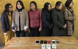 6 nữ quái điều hành đường dây ghi lô đề 200 triệu mỗi ngày