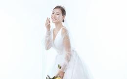 Diễn viên Thanh Hương xinh đẹp lộng lẫy trong lần thứ 2 mặc váy cưới