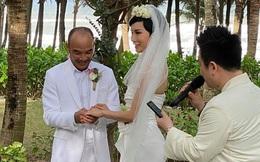 Tin hỉ mở màn Vbiz ngày đầu năm: Siêu mẫu Xuân Lan lên xe hoa ở tuổi 41, hé lộ bộ ảnh cưới lộng lẫy