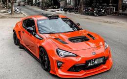 """Cận cảnh xe """"hàng hiếm"""" Subaru BRZ độ widebody lần đầu xuất hiện tại TP Hồ Chí Minh"""