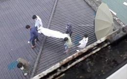 Nam bệnh nhân rơi từ tầng 7 bệnh viện xuống tử vong