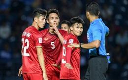 Tuyển thủ U23 Việt Nam hành động thiếu kiềm chế với trọng tài chính ở VCK U23 châu Á 2020