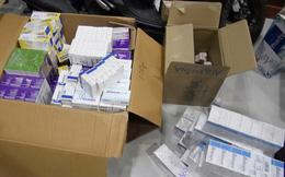 Phát hiện lô thuốc tân dược cực khủng nghi nhập lậu đang chuẩn bị bỏ sỉ ở Sài Gòn