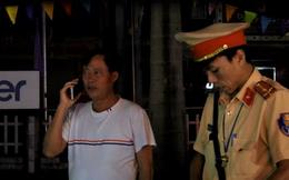 Bị phạt vi phạm nồng độ cồn, người đàn ông xưng là cán bộ kiểm lâm xin CSGT bỏ qua