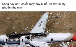 """Tung tin đồn máy bay rơi ở Bình Dương để câu like bán hàng, """"hotgirl"""" bị phạt 12 triệu đồng"""