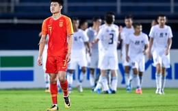 Thi đấu cực tệ để rồi bị loại sớm trước một vòng đấu, U23 Trung Quốc phải đi vé hạng phổ thông về nước