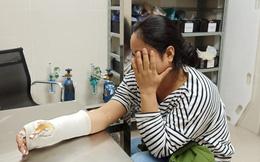Điều tra vụ người phụ nữ bị hai tên cướp đạp ngã gãy tay, cướp xe máy giữa trưa