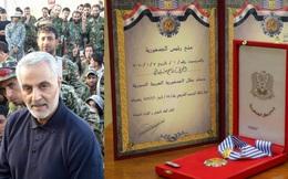 """Tại sao tướng Iran được Syria truy tặng Huân chương Anh hùng: Một thời """"hô mưa gọi gió""""?"""
