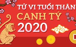 Tử vi tuổi Thân năm Canh Tý 2020: Có 4 tháng hanh thông, tài lộc rủng rỉnh, tiền bạc xông xênh
