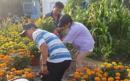 Mất vợ trong chuyến buôn hoa Tết, người chồng bán rẻ về quê chịu tang