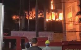 Cháy lớn ở tòa nhà dầu khí, nhiều người mắc kẹt, 1 người tử vong